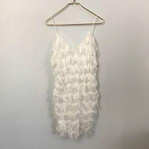La Maison Talulah White Sheathe Dress